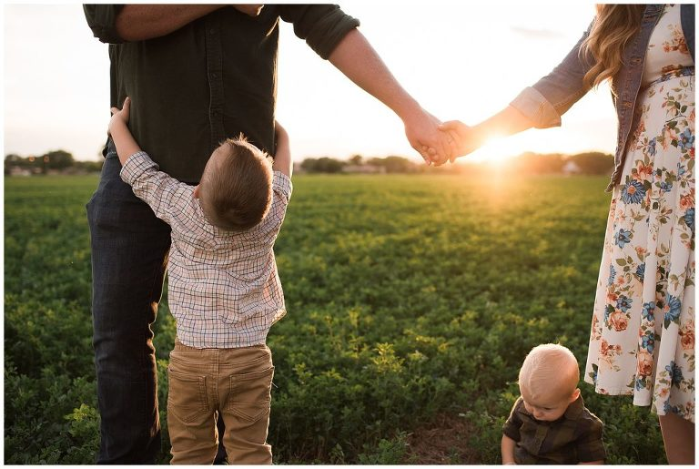 Winning a free family session with Alison Hatch Photography.