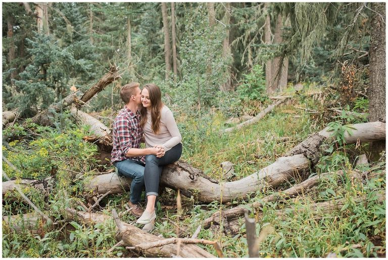 Sandia Forest Engagement Pictures