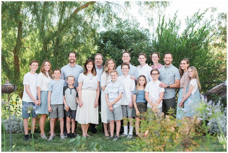 Extended Family Pictures Albuquerque Family Photographer
